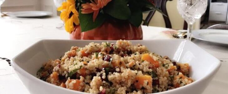 Healthy Zesty Quinoa Salad