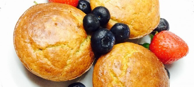 Healthy-zesty guilt-free muffins
